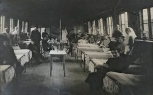 A ward, the Queen Alexandra Hospital, FAU, Dunkirk