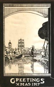 Christmas card, 1917