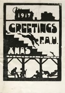 FAU Christmas card, 1917