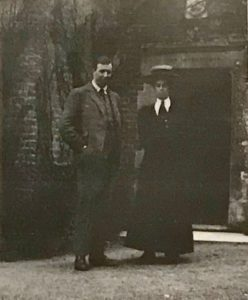 Jack and Kat Gibbs, Clyst St George, Devon, Easter 1908