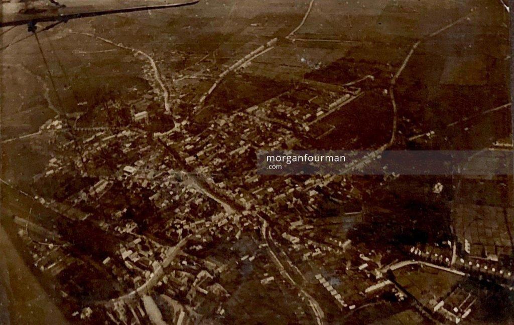 RAF Aerial Photo, France, 1918