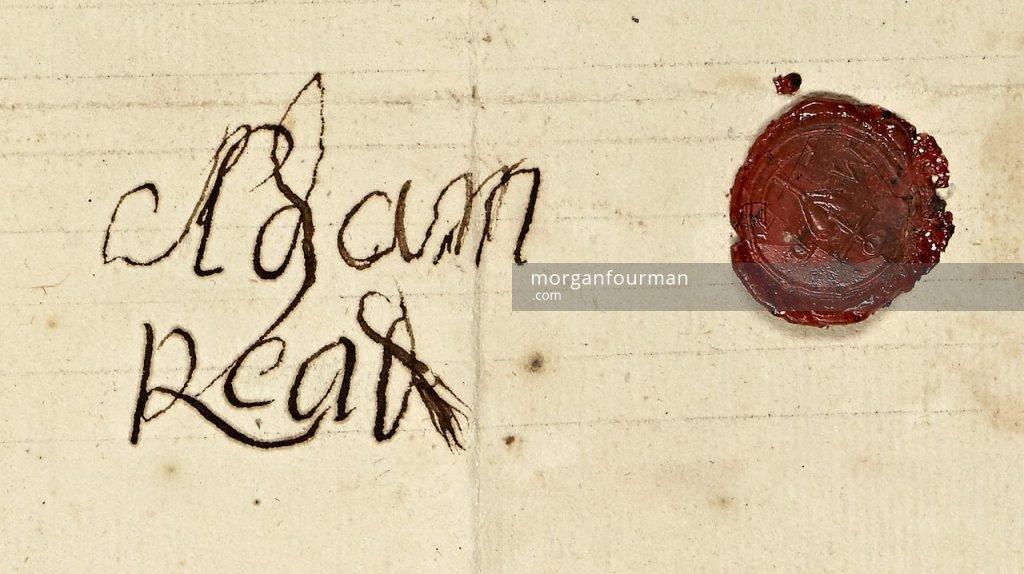 Adam Read signature