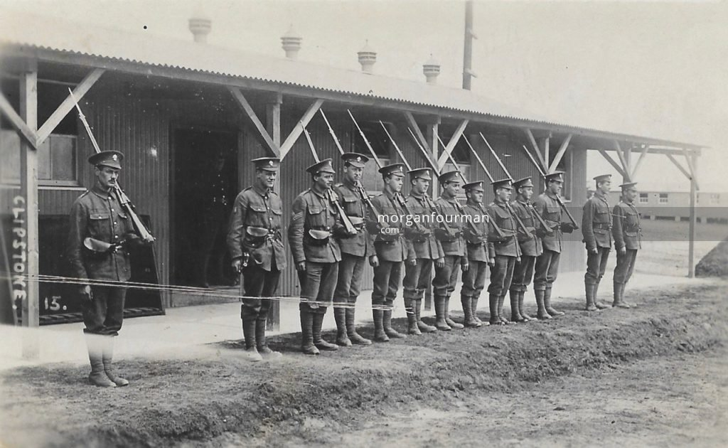 Clipstone. Noel is standing fifth on the right
