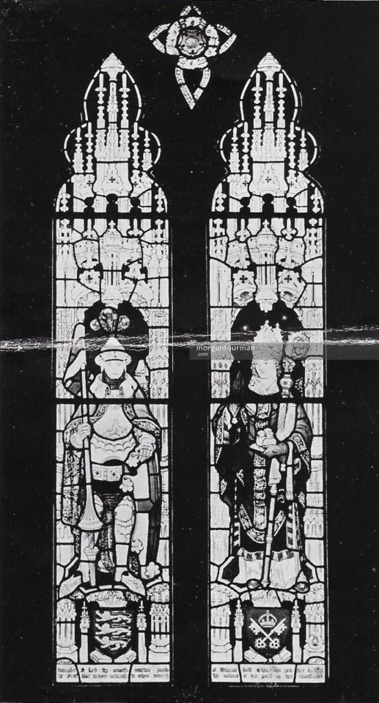 The Window for Lythe Parish Church in memory of Old Mulgravians who fell in the War, design by J.C.N. Bewsey