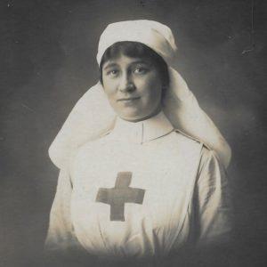 Nurse Molly Evans, 1916