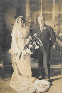 Wedding of Amy Loveridge and Tom Fisher, 15 Jun 1912