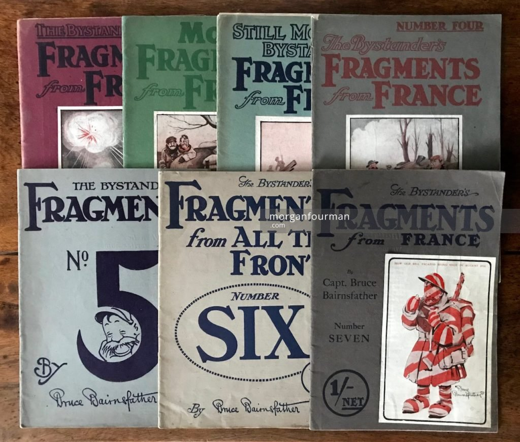 The Bystander's Fragments from France by Bruce Bairnsfather, Vols. 1-7