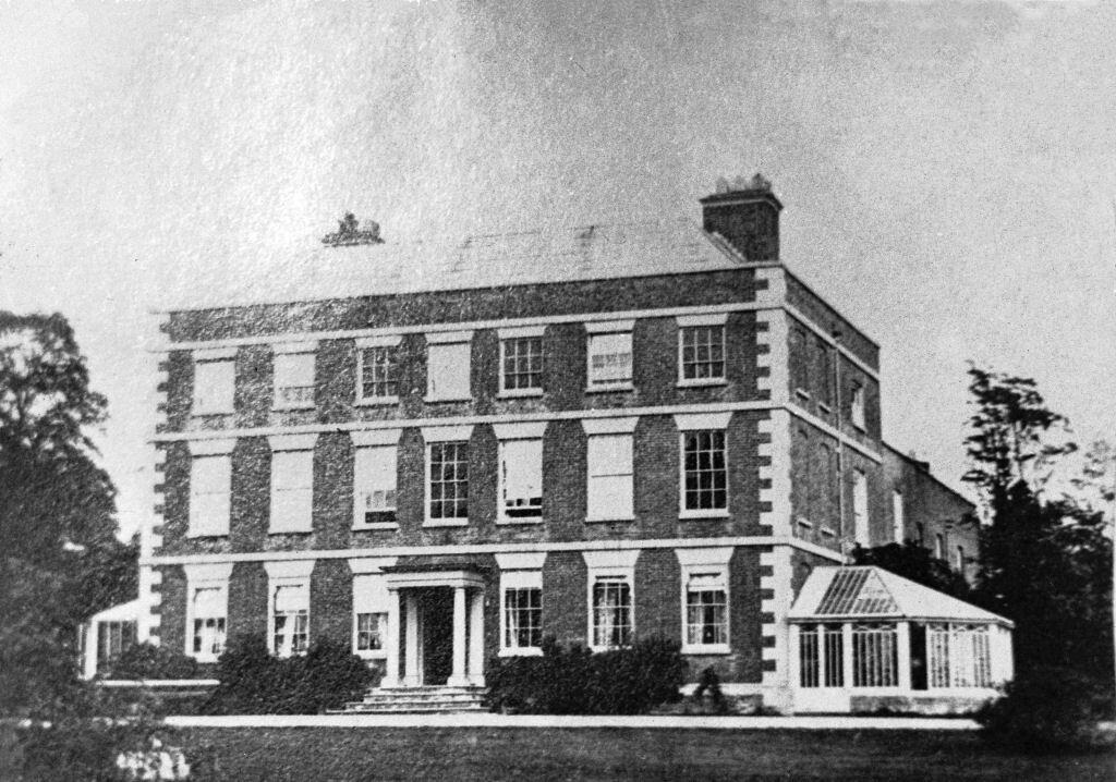 Hagley House, 1905 © Hagley Community Association