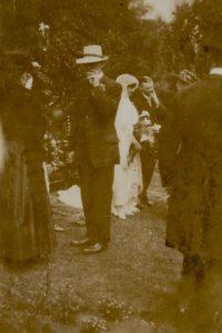 Noel and Molly Downing wedding, 29 Jul 1919