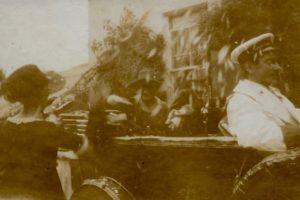 Departure for Hagley Station 5.30pm 29 Jul 1919