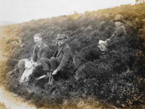 Noel, W.E. and Molly Downing, Beacon Lodge, 1920s