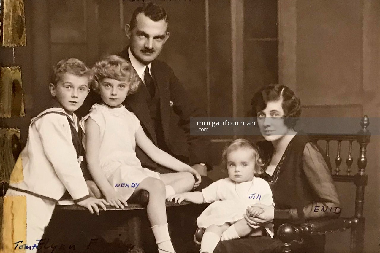 Tom Flynn and family about 1930