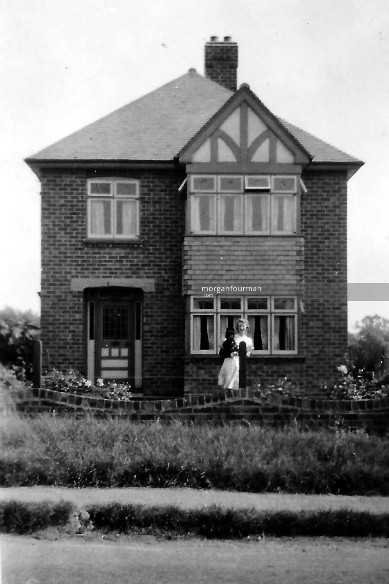 'Kismet' in Castlethorpe, Pamela was billeted here in 1942 care of Walt and Gert Cook