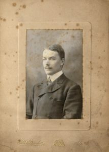 Jim Mathews (identified on rear)