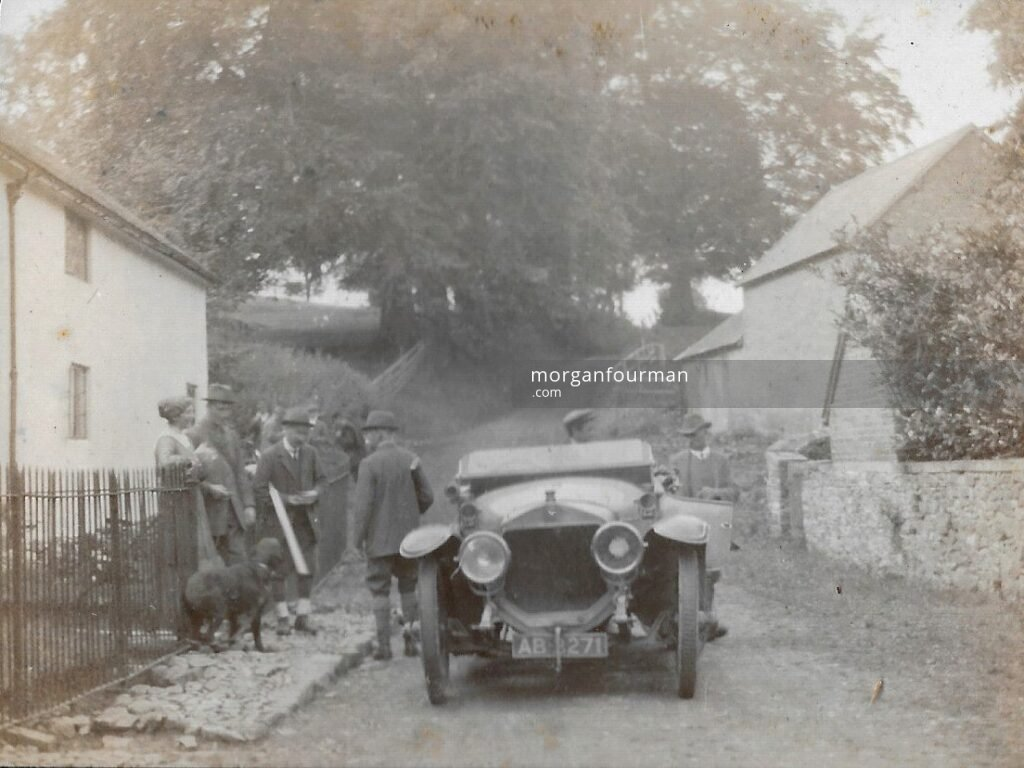 Ratlinghope, c. 1917; off to the shoot