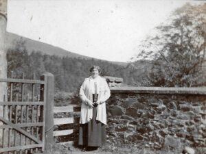 Ratlinghope, c. 1917; Ida Downing