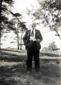 Mr H.S. Sands, Art Mentor, 1939