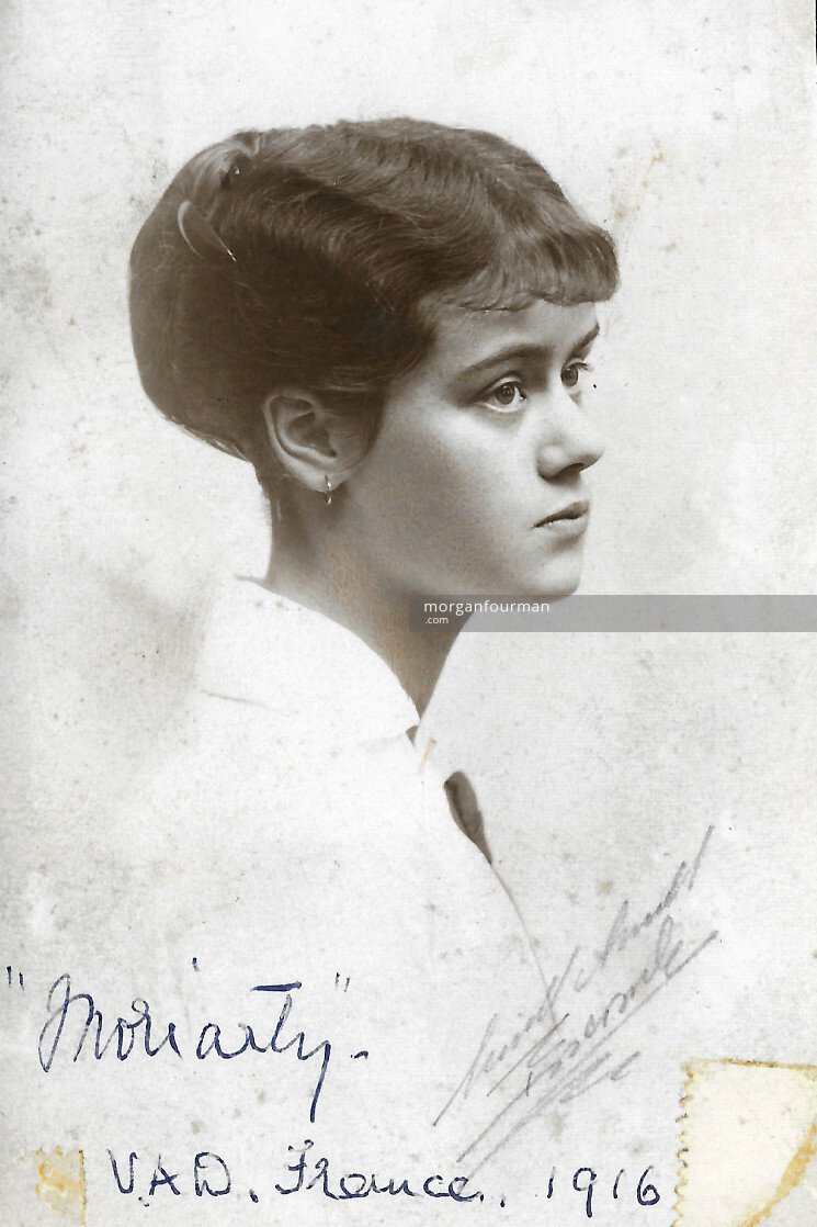 Aileen Moriarty, VAD nurse, France, 1916