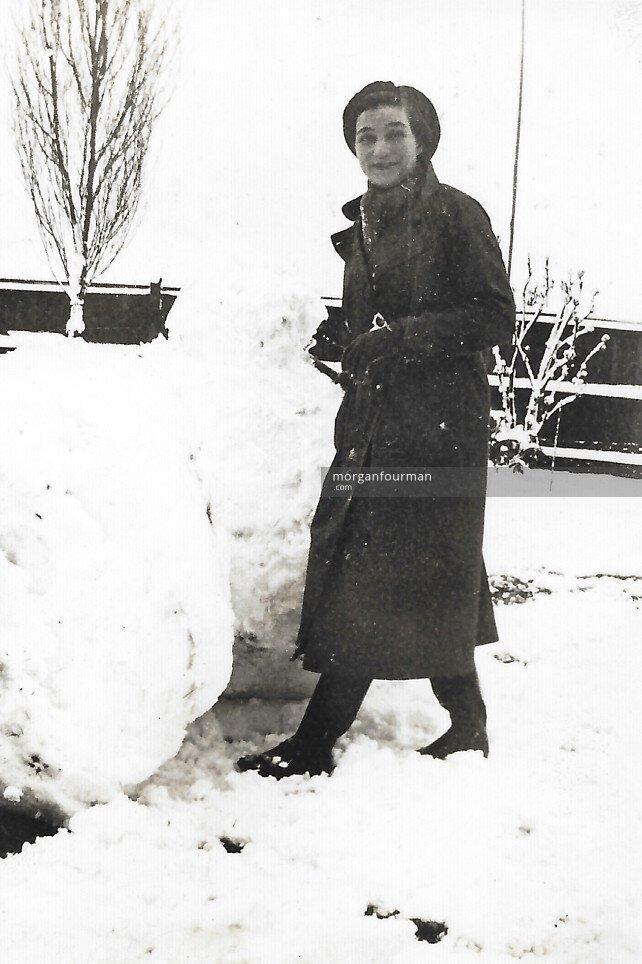 Hélène Cordier at 47 Selwyn Rd, Edgbaston, 1936
