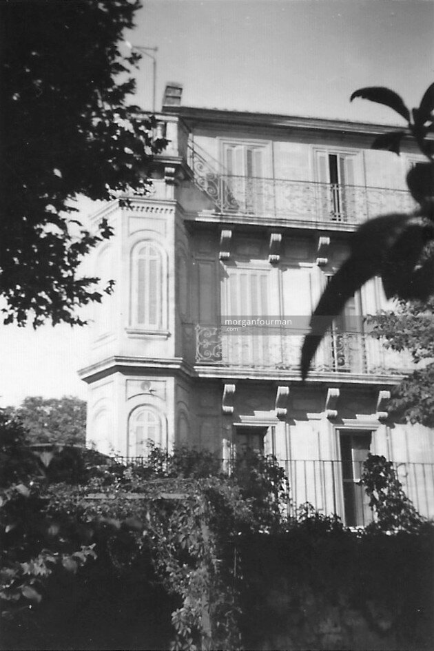 Le Castelet, Château Gombert, Marseille, Sep 1938. Pam's room on the top