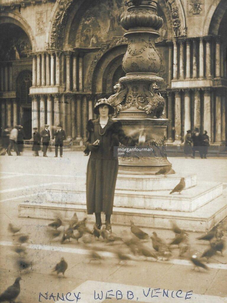 Nancy Grazebrook, Venice, 1924