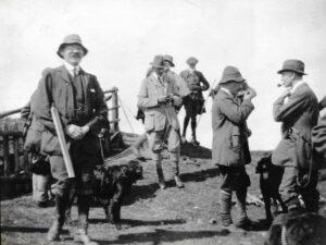 Shooting at Ratlinghope, c. 1916