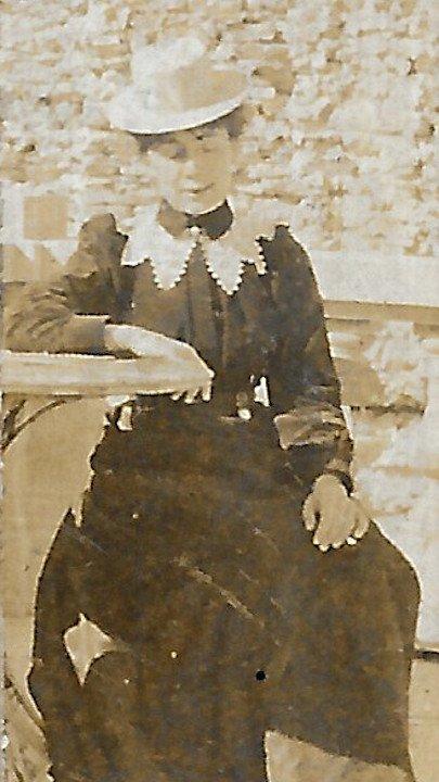 Carrie Herbert, Sierre, late 1890s