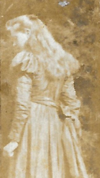 Eleanor Welch, possibly Sierre, late 1890s