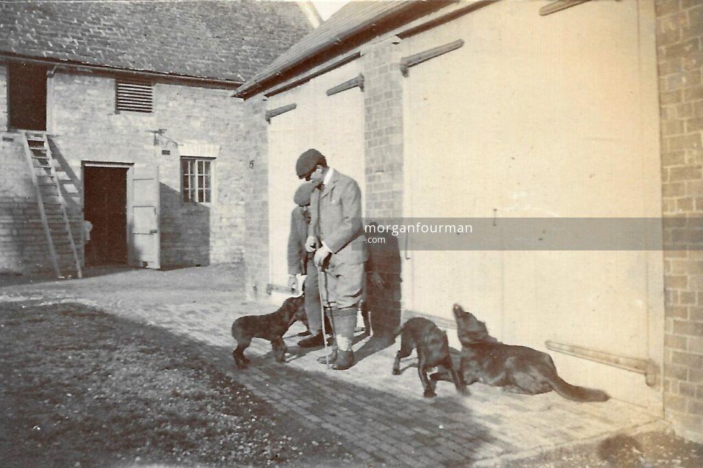 Mr D'Aubigné, Thrapston, 1903