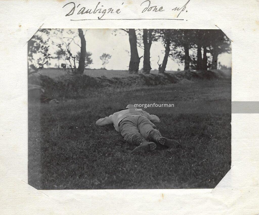 """""""D'Aubigné done up"""", c. 1898"""