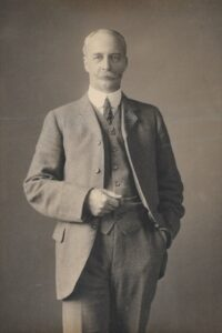 Walter Showell Junior, c. 1912. Photo by J. Moffat, Edinburgh